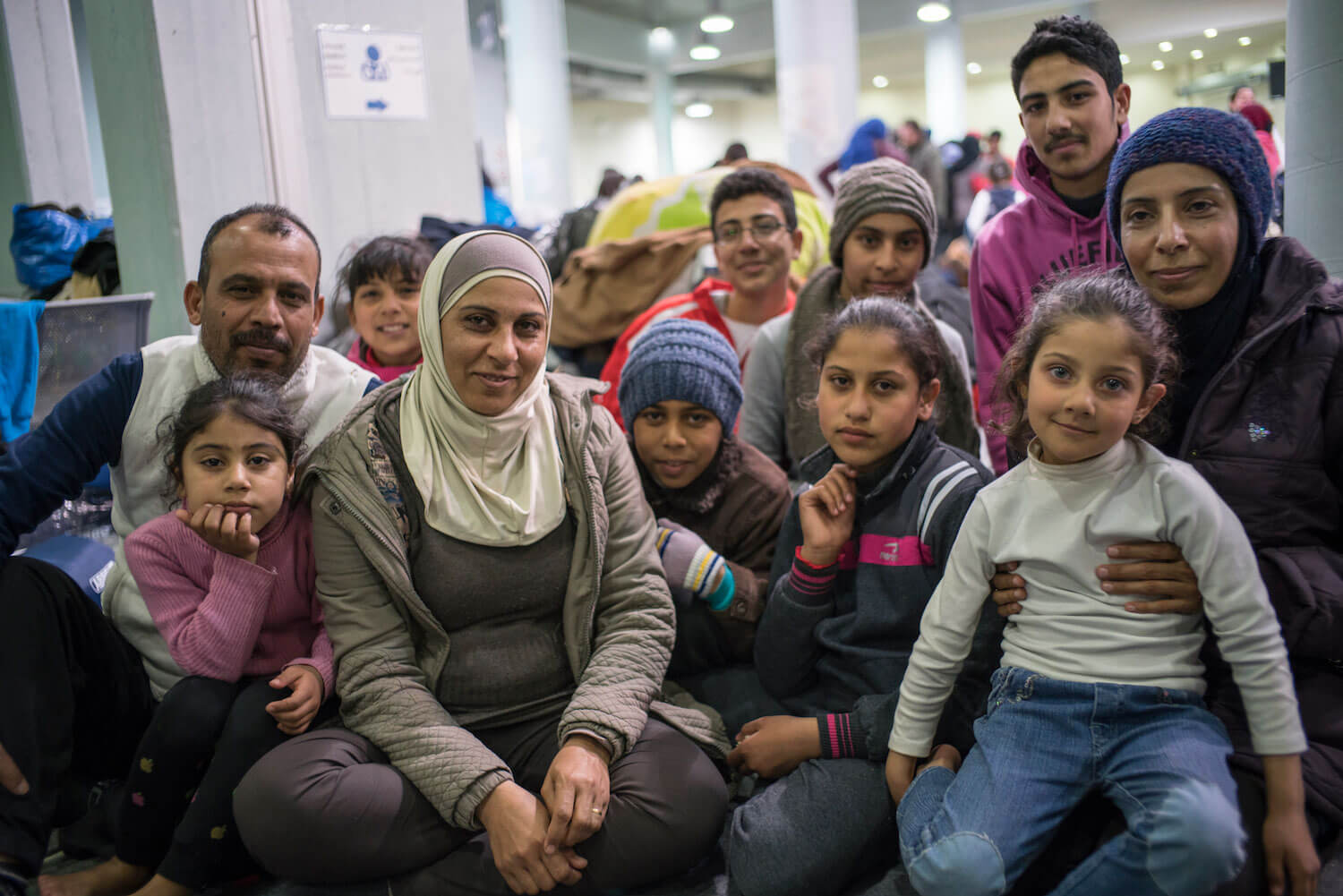 A Loving Refugee Family